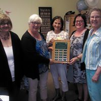 The Zonta Club of Sault Ste Marie Area Awarded The Breton House Founder's Award